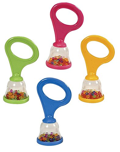 Hohner Kids Mini Shakers with Handle Rattle, 36-Pack - 1