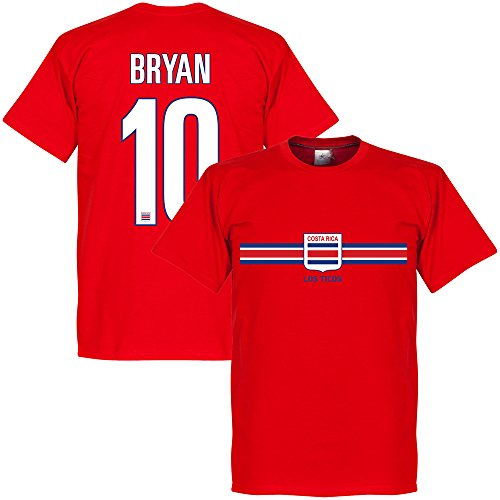 Costa Rica Bryan Team Tee - Red - XXL