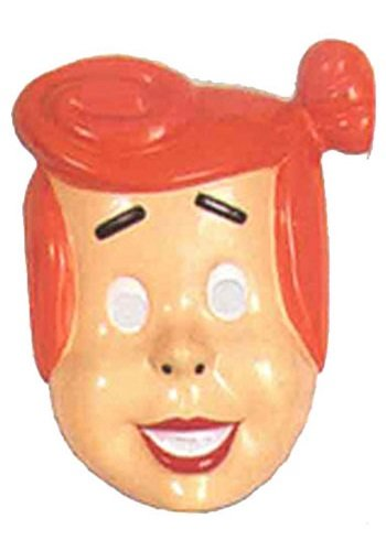 Rubie's Costume Co 3/4 Pvc Wilma Flint. Mask Costume