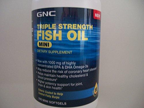 Top best 5 fish oil gnc triple strength for sale 2016 for Gnc triple strength fish oil 1500