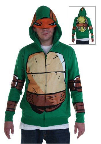 Adult TMNT Costume Hoodie (Medium)