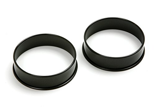 Norpro 666 Nonstick Egg Rings, 2-Piece Set