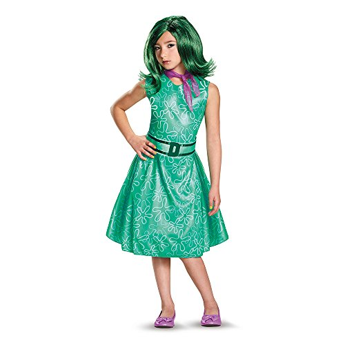 Disguise 86940L Disgust Classic Child Costume, Small (4-6x)