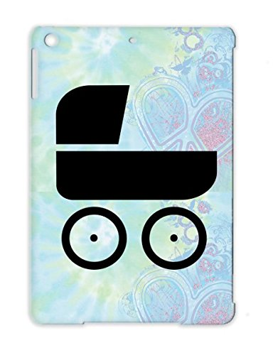 Black Pram Pregnancy Buggy Pram Baby For Ipad Air Shatterproof Tpu Cover Case front-823237