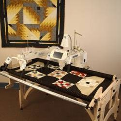 Tin Lizzie18 DLS Long Arm Quilting Machine by TinLizzie18