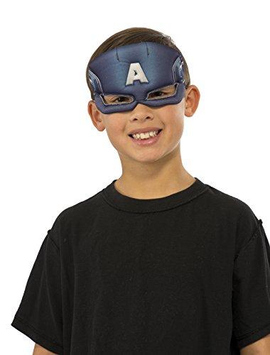 Rubie's Costume Marvel Universe Captain America Child Costume Plush Eye Mask