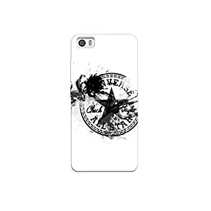 Xioami MI5 nkt06 (10) Mobile Case by Mott2 - Converse Star Logo Black & White (Limited Time Offers,Please Check the Details Below)