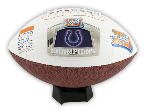 Colts Super Bowl XLI Champs Commemorative Football