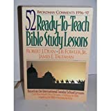 img - for Broadman Comments 1996-97: 52 Ready-To-Teach Bible Study Lessons book / textbook / text book