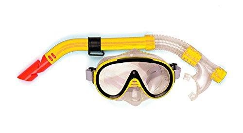 Gelb Erwachsene Pro Maske & Schnorchel Set-Gelb