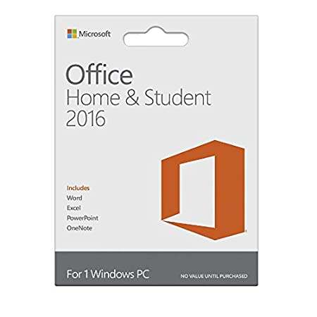 Microsoft Office Home and Student 2016 - Licence Key (PC)