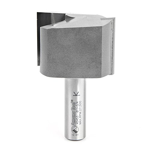 Amana Tool 45453 Carbide Tipped Straight Plunge High Production 1-3/4 D x 1-1/4 CH x 1/2 Inch SHK Router Bit (Amana Tools compare prices)
