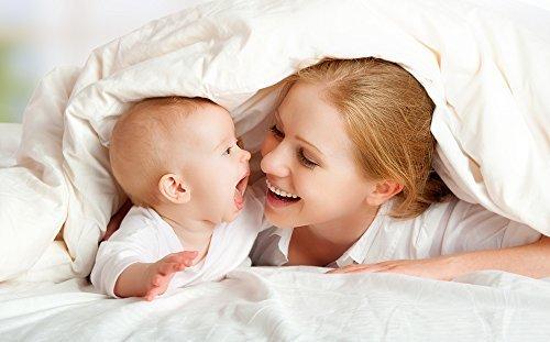 Luxana Baby Cocoon Comforter + 2 Duvet Covers (Pearl Tan)