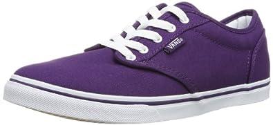 Vans Atwood Low, Women's Skateboarding Shoes, Canvas/Grape/White, 3.5 UK