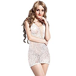 Nimra Fashion Strappy lace Stocking dress (Free)