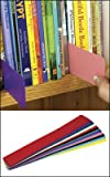 """Economy Colored Shelf Marker Set - 2""""W x 14""""D - 24 Markers - 12 Assorted Colors"""
