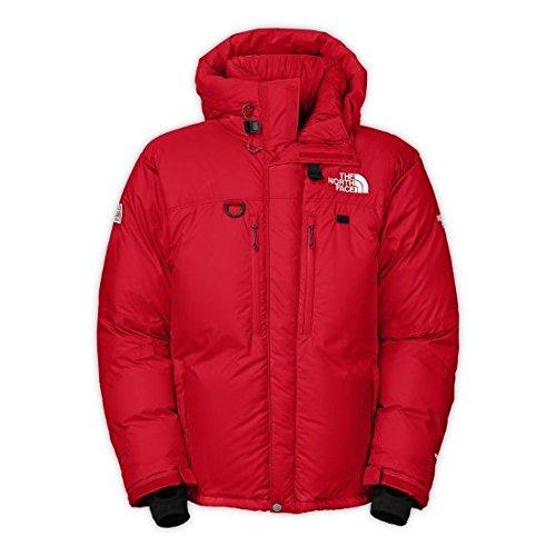 The North Face-Parka da uomo dell'Himalaya, colore: rosso, Uomo, colore: rosso, taglia: L
