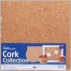 Darice Cork Wall Tile 5mmx12