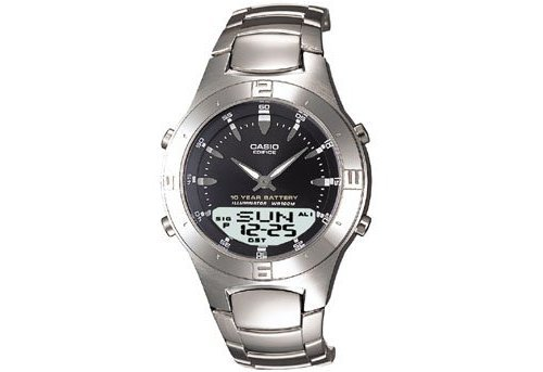 Casio Edifice 30-Page Databank 10-Year Battery - Buy Casio Edifice 30-Page Databank 10-Year Battery - Purchase Casio Edifice 30-Page Databank 10-Year Battery (Casio, Jewelry, Categories, Watches, Men's Watches, Casual Watches, Metal Banded)