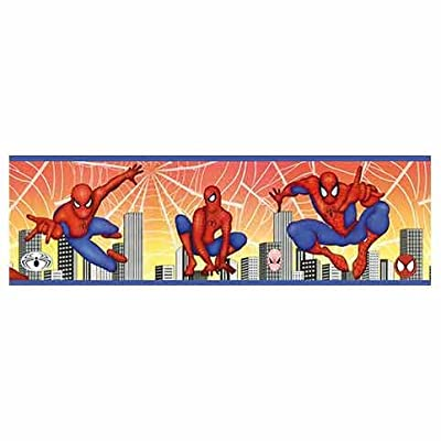 Spiderman Wallpaper Border by Lux