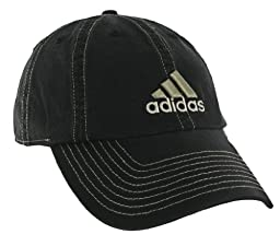 adidas Men's Weekend Warrior Cap (BLACK/CLAY S09/IRON GREY, One Size Fits All)