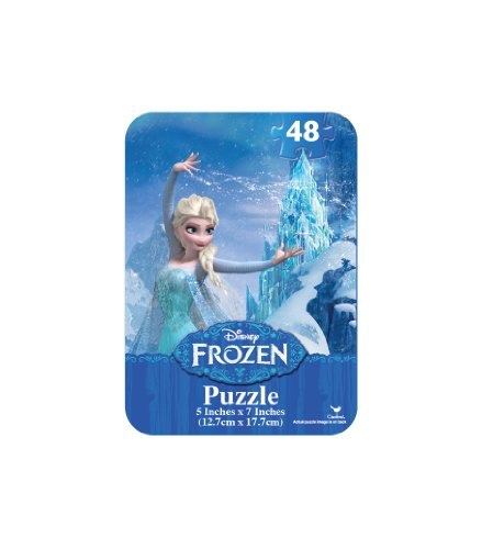 Frozen Mini Puzzle Tin (48-Piece) - 1