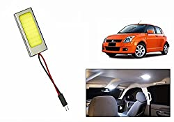 Speedwav Car Metal Border Roof LED Light Rectangle WHITE-Maruti Swift Old