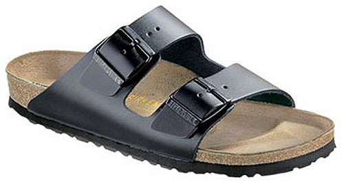 Birkenstock Sandals ''Arizona'' from Leather in Black 47.0 EU R