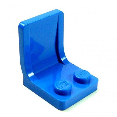 5 x Lego Sitze blau Sitz Stuhl Eisenbahn Flugzeug Auto Stühle mit Lehne 4079 B73