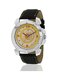Yepme Flome Mens Watch - Yellow/Black -- YPMWATCH1890