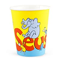 Dr Seuss Classic Book Characters 9oz Party Cups 8 Pack by Party Destination