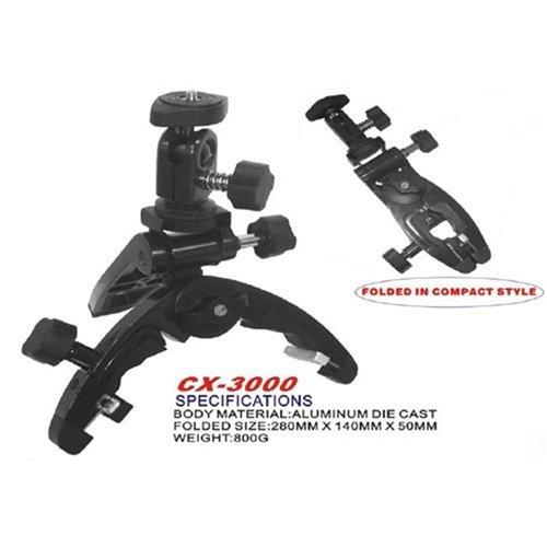 CowboyStudio Lightweight Universal Camera Camcorder Multi-clamp Pod Tripod, CX-3000