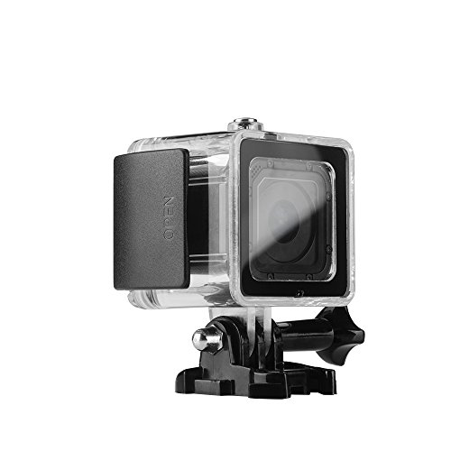 Lightwish-45M-150-Feet50-Yard-Underwater-Diving-Waterproof-Housing-Protective-Case-Accessory-Kit-With-Bracket-For-GoPro-Hero4-session-Black