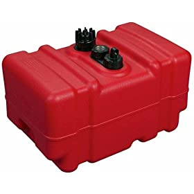 Moeller Boating Topside Fuel Tank (12-Gallon, Tall Profile)