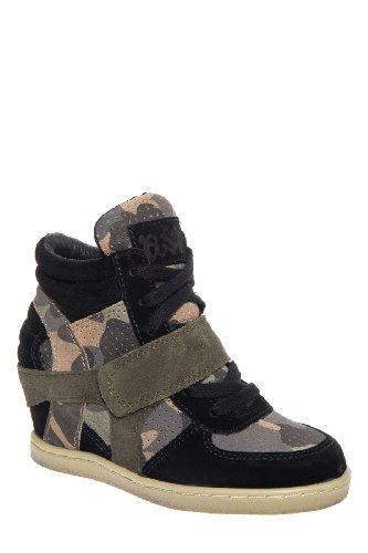 ASH Kid's Babe Bis Wedge Sneaker