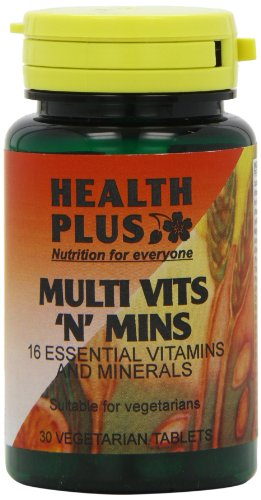 Health Plus Multi Vits 'n' Mins One-a-day Multivitamin Supplement - 30 Tablets