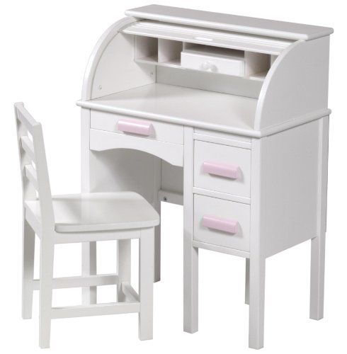 Guidecraft G97301 Jr Roll Top Desk White 5ive Dollar