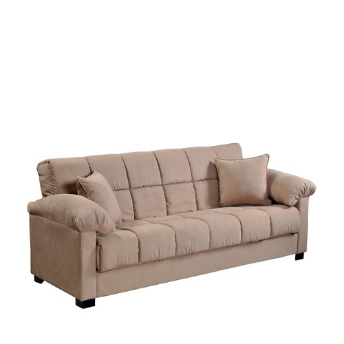 Handy Living CAC4 S1 AAA85 050 Living Room Convert A Couch Microfiber