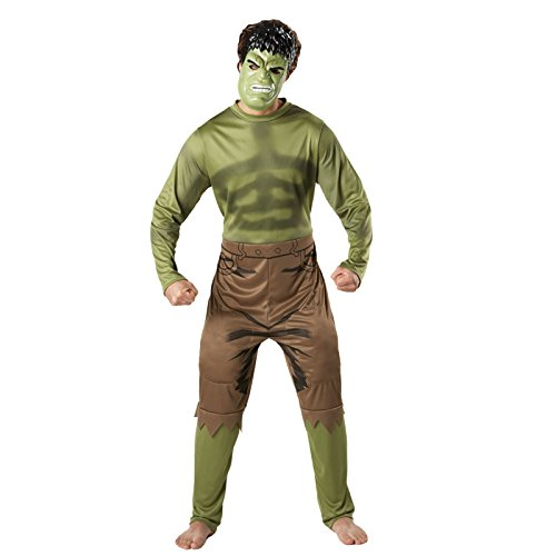 The Hulk Classic Adults Fancy Dress Costume Rubies Marvel Outfit