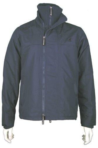New Kangol Mens Jacket, In Navy. Size Medium - Style Speed K601198