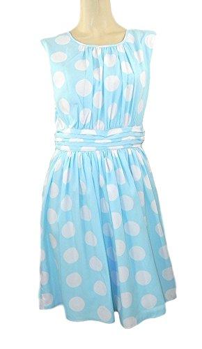 dickins-jones-et-pois-bleu-pale-floaty-robe-sans-manches-orig-prix-59-bleu-taille-42