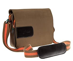 Ultimate Addons Green Messenger Style Bag for Apple iPad 1 2 3 4 5 Air