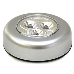 SODIAL(TM) 3 LED Lumiššre tactile
