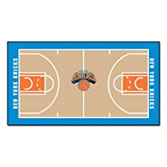 Buy FANMATS NBA New York Knicks Nylon Face NBA Court Runner-Small by Fanmats