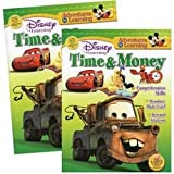 Disney Adventures in Learning Time Money Workbook (Sold by 1 pack of 24 items)