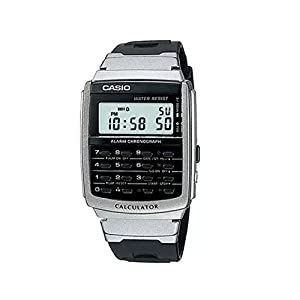 Casio CA-56-1DF Men's Digital Calculator Classic Quartz Watch