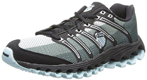 K-Swiss Women's Tubes 100 P Sneaker,Clearwater/Black,7 M US