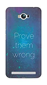 AMEZ prove them wrong Back Cover For Asus Zenfone Max ZC550KL