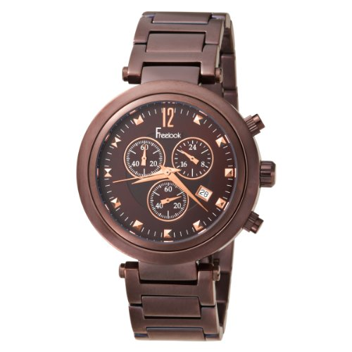 Freelook Women's HA1136CHM-2 Cortina Chrono Chocolate Watch