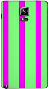 Timpax protective Armor Hard Bumper Back Case Cover. Multicolor printed on 3 Dimensional case with latest & finest graphic design art. Compatible with Samsung Galaxy Note 4 Design No : TDZ-22393